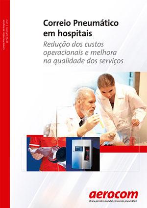 Catálogo de sistema pneumático para uso hospitalar